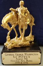 "1st POTUS George Washington Agent 711 Culper Spy Ring 1775 & 1776 6"" Statue"