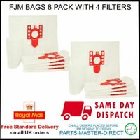 FITS MIELE VACUUM CLEANER C2 C1 COMPACT COMPLETE FJM x 8 DUST BAGS & 4 FILTERS
