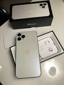 Apple iPhone 11 Pro - 256GB - Silver (Unlocked) A2160 (CDMA GSM) - 2 weeks old!