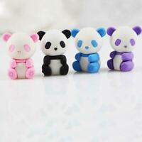 cartoon-panda modelling eraser Kawaii stationery school supplies correction S5I0
