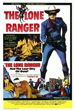 THE LONE RANGER AND THE LOST CITY OF GOLD Movie POSTER 27x40 Clayton Moore Jay