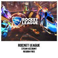 Rocket League Steam Account Global