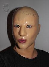 Latex chair peau de caoutchouc gummi HOOD long cou Gimp Fétiche anatomique masculin Masque