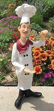 "Humor Chef 8X26"" Figurine Statute MENU Sign Holder"