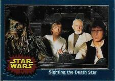 1999 Topps Star Wars Chrome Archives #15 Sighting The Death Star   Han Solo Luke