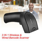Eyoyo 3 in 1 1D 2D QR Barcode Scanner Reader for iPad iPhone Android Phones
