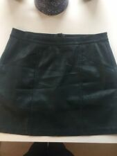 New Look Leather Short/Mini Skirts for Women