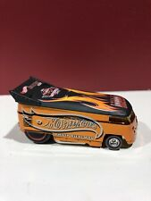 Hot Wheels VW Drag Bus Convention Orange Dinner With Roof Logo Rare Nationals