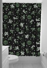Sourpuss Monster Mosh Shower Curtain & Rings Halloween New