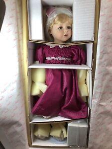 "24"" Marie Osmond & Radko Porcelain Doll ""Helena"" Quite A Pair Limited MINT InBox"