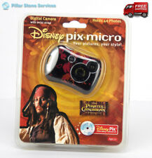 Pirates Of The Caribbean DISNEY PIX Micro Digital Camera w/ Wrist Strap & Acces.