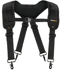 Padded Work Suspenders Toughbuilt Heavy Duty Adjustable Industrial Utility Tools