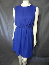 The Limited Beautiful and Classy Casual Sleeveless Blue Dress Size M