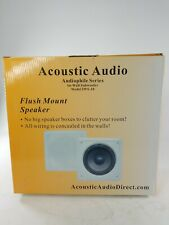ACOUSTIC Audio IWS-10 In-Wall Subwoofer, Single - New IN BOX