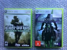 Xbox 360 Games LOT- of 2 call of duty/darksiders 2