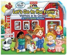 Fisher-Price Let's Go to the FarmVamos a la Granja (Lift-the-Flap)