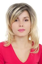 Blonde Wig, with Black Under Hair, Length: approx. 17 11/16In, gfw1016-24br6