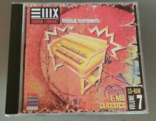 EMU E-MU Sampler Sampling Sound Library CD EIII ESI E4 E-IV Classics Vol. 7