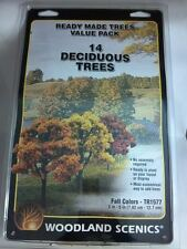 Woodland Scenics Ready Made Trees Diciduous Fall Colors (14) TR1577 Diorama 3-5""