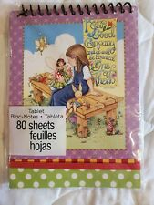 """New, Mary Engelbreit, Pb Notebook, Spiral Top, """"Keep Good Company"""" 80 sheets"""