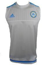 Adidas Olympique Marseille Trikot Jersey Tank Top Gr.L Neu