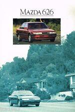 1990 MAZDA 626 Brochure / Catalog: DX,LX,GT