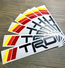 "TRD 4Runner Decal Sticker 5.5"" Toyota 4 Runner Tacoma FJ DIE CUT Retro Stripes"