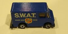 hot wheels scene machines S.W.A.T Blue very nice