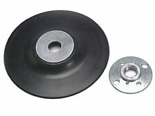"115mm Rubber Backing Disc M14 Thread Back Pad, For 4 1/2"" Angle Grinder Sander"