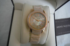 Anne Klein New York 12/2224RGLP Pink Ceramic Women's Watch