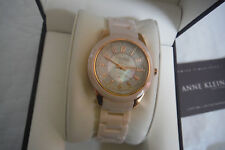 Anne Klein New York 12/2224RGLP Pink Ceramic Women's Watch