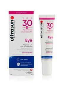 ULTRASUN SPF30 EYE 15ml EYE PROTECTION SENSITIVE SKIN BRAND NEW