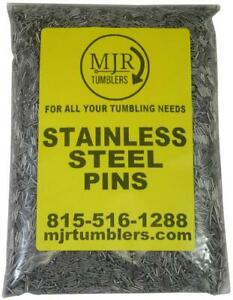 Stainless tumbling media pins.