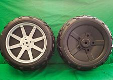 *New* Peg Perego Polaris Ranger Rzr Rear Wheel (Set of 2) Tires