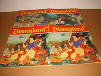 Vintage Disneyland Magazine for Beginning Readers, Lot of 4, Pooh, Snow White!