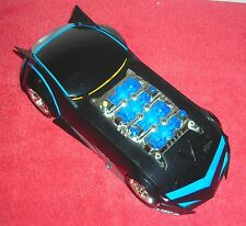 "THE BATMAN ANIMATED 12"" LIGHT UP SOUND ACTION FIGURE BATMOBILE"