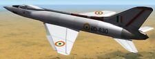 HF-24 Marut HAL India Fighter-Bomber Airplane Mahogany Wood Model Small New