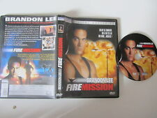 Fire Mission de Beau Davis avec Brandon Lee, DVD, Action