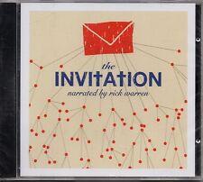 "RICK WARREN ""THE INVITATION"" CD 2006 maranatha! sealed"