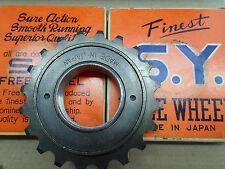 Vintage NOS bicycle Freewheel 'S.Y.' for Raleigh-Schwinn 20T B.S.A made in Japan