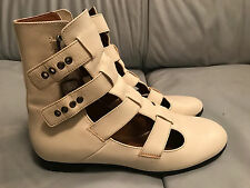 Marc Jacobs Gladiator Boots Sandals in WHITE  EU39.5/UK6.5/US9.5 excellent cond.