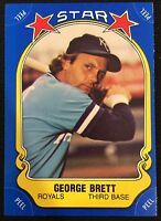 1981 FLEER STAR STICKERS #116 GEORGE BRETT