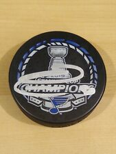 Ryan O'Reilly St. Louis Blues 2019 Stanley Cup Champions Autographed Puck