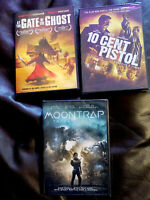 Lot Of 3 Sci-fi, Murder Movies DVD, Brand New Seal