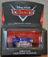 Disney Pixar Cars Diecast Precision Series FABULOUS LIGHTNING MCQUEEN in Case