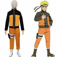 Anime Uzumaki Cosplay Costume Kids Children Outfits Halloween Carnival Costumes