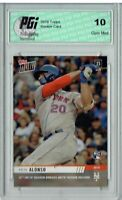 Pete Alonso 2019 Topps Now #422 Only 2025 Produced Rookie Card PGI 10