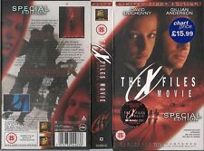 THE X FILES MOVIE DAVID DUCHOVNY GILLIAN ANDERSON LIMITED FIRST EDITION NO.03916