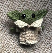 Baby Yoda, Handmade Crochet Star Wars The Mandalorian The Child Inspired