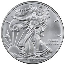 Random Date 1 Troy oz. American Silver Eagle $1 Coin SKU37640